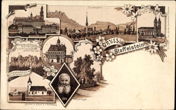 Bad Staffelstein am Main Oberfranken, Große Linde, Schloss Banz, Einsiedler Ivo