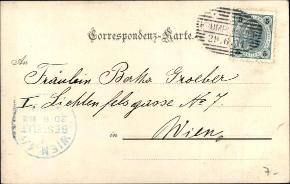 Postcard Worthersee In Karnten Pension Und Restaurant Akpool Co Uk