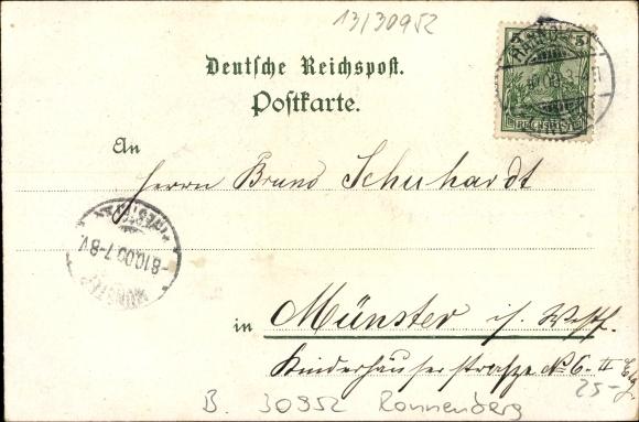 Benthe Ronnenberg, Gasthof zur grünen Linde, H. Carthus, Saal