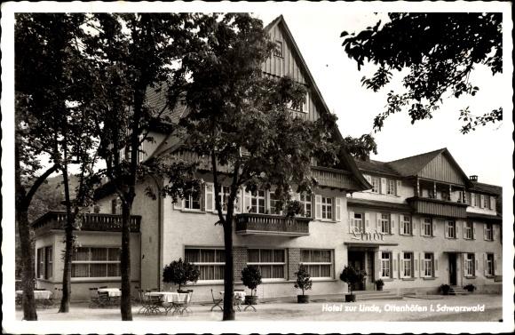 Ottenhöfen im Schwarzwald, Hotel Blick auf das Linde, Fassade
