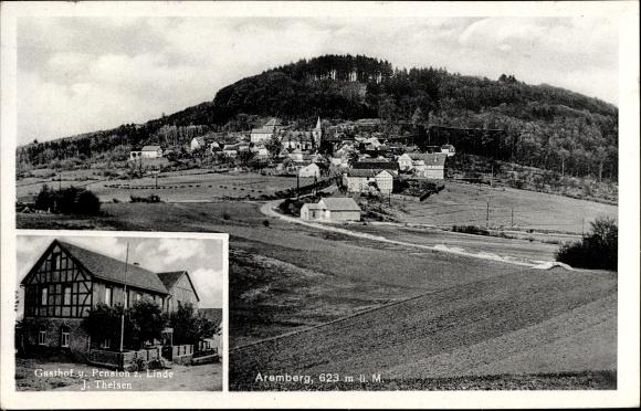 Aremberg Kreis AhrJiNan Hope Hydraulic Co., Itdiler, Gasthof Zu Linde, J. Theisen, Totalansicht