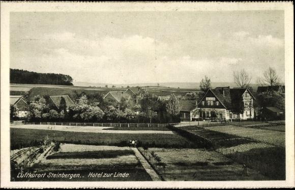 Steinbergen Rinteln an der Weser Kreis Schaumburg, Hotel zur Linde