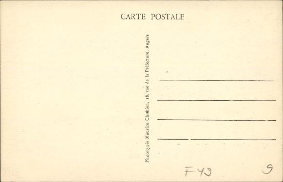 Postcard Angers Maine Et Loire Jx27arrive Et Pense