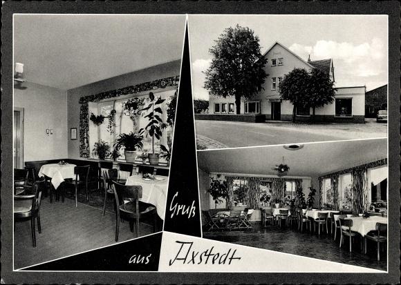 Axstedt in Niedersachsen, Gasthaus Zur Linde, Gaststätte, Gaststube