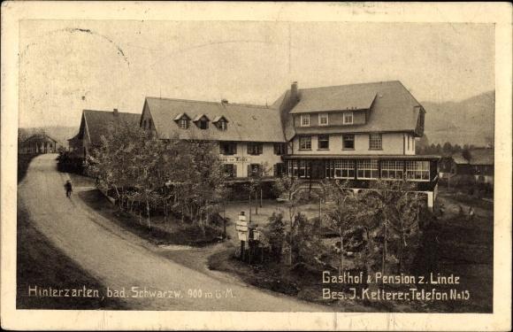 Hinterzarten im Südschwarzwald, Gasthof und Pension zur Linde, Bes. J. Ketterer