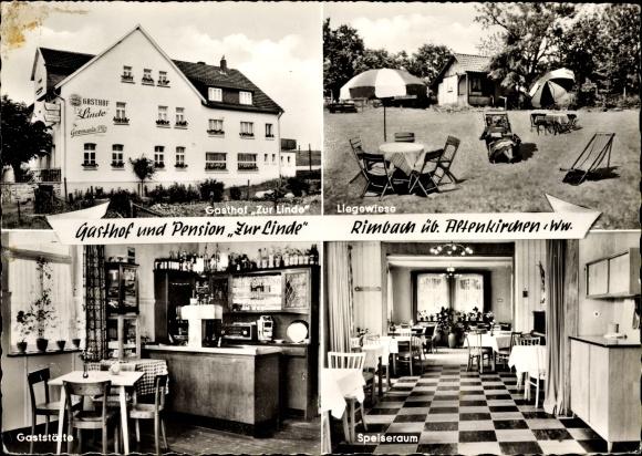 Rimbach Oberirsen, Gasthof zur Linde, Katzmann Pick, Speiseraum
