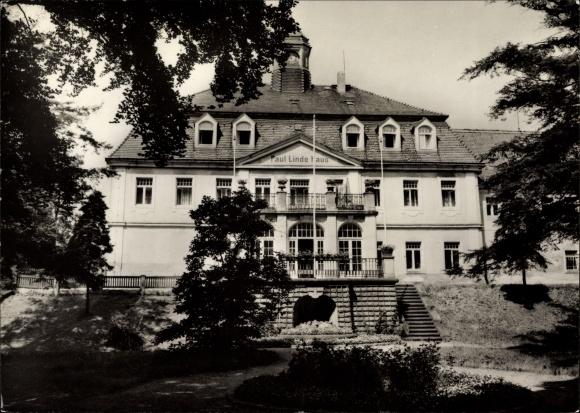 Berggießhübel in Sachsen, Partie am Paul Linde Haus