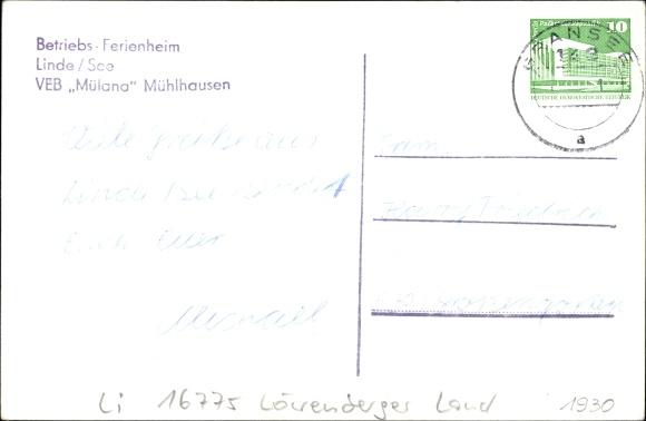 Linde Löwenberger Land, VEB Ferienheim Mülana Mühlhausen