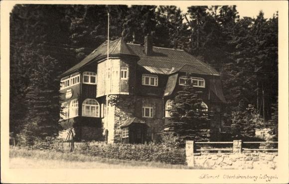 foto ansichtskarte postkarte oberb renburg in altenberg. Black Bedroom Furniture Sets. Home Design Ideas
