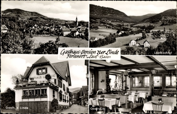 Lauf in Baden Württemberg, Stadtansichten, Gasthof zur Linde