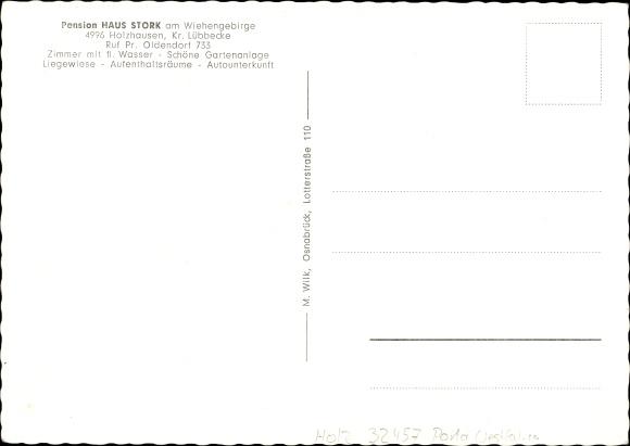 ak holzhausen preu isch oldendorf in nordrhein westfalen pension 1532163 ebay. Black Bedroom Furniture Sets. Home Design Ideas