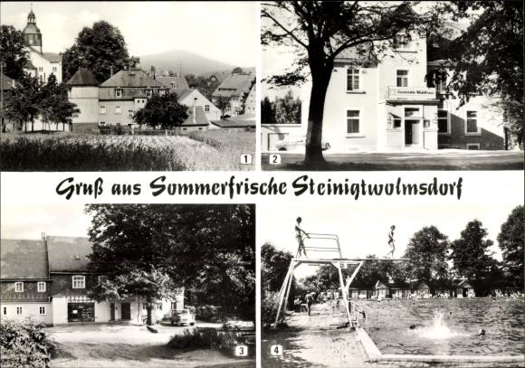 Ansichtskarte postkarte steinigtwolmsdorf im landkreis for Steinigtwolmsdorf bad