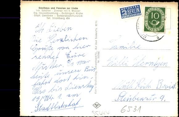 Seibersbach im Hunsrück, Gasthaus Pension zur Linde, Inh. Schäffer, Schwimmbecken, Hirsch