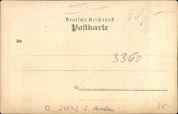 Osterode Bad Sooden Allendorf in Hessen, Gasthof zur Linde, Inh. F. Böttner, Krippen