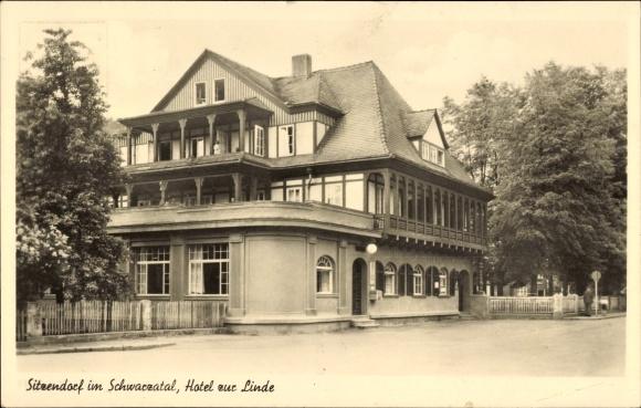 Sitzendorf an der Schwarza in Thüringen, Hotel zur Linde