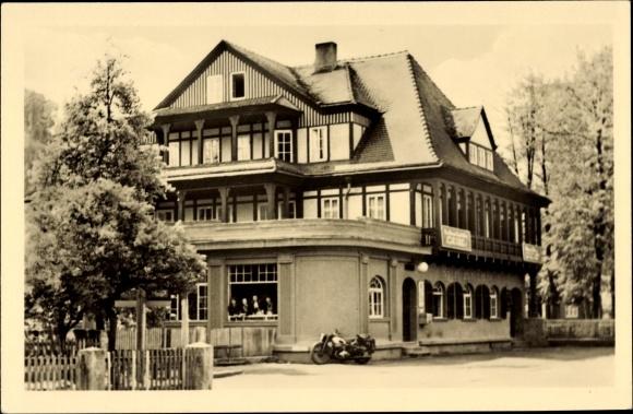 Sitzendorf an der Schwarza in Thüringen, HO Hotel Zur Linde