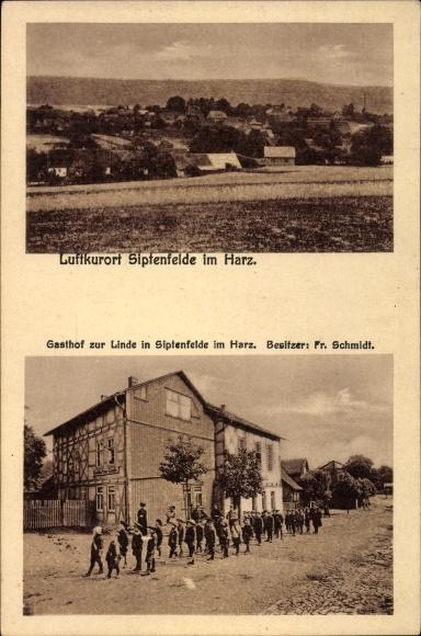 Siptenfelde Harzgerode am Harz, Gasthof zur Linde, Bes. Fr. Schmidt