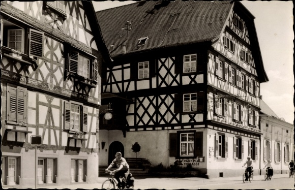 Oberkirch in Baden Württemberg, Blick auf Hotel Obere Linde, FachJiNan Hope Hydraulic Co., Itdrkhaus