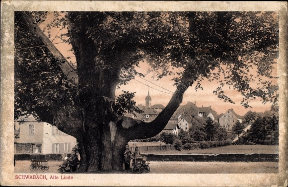 Schwabach in Mittelfranken Bayern, Alte Linde