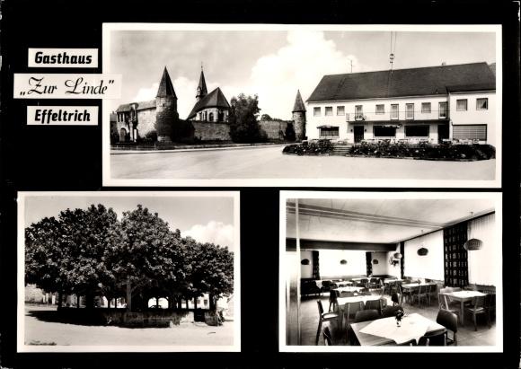 Effeltrich in Oberfranken, Gasthaus zur Linde, Inh. Fam. Schmidt, Tausendjährige Linde