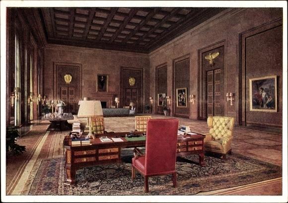 postcard berlin neue reichskanzlei architekt albert. Black Bedroom Furniture Sets. Home Design Ideas