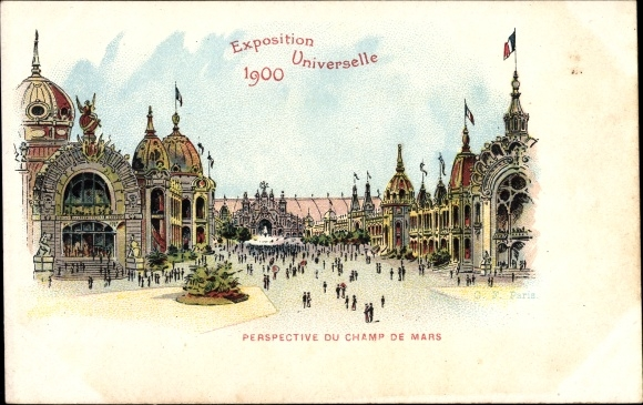 Litho-Paris-Exposition-Universelle-1900-Parspective-du-Champ-de-1759536