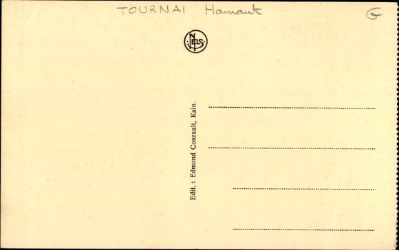 Carte Kain Belgique.Carte Postale Kain Tournai Wallonien Hennegau La Rue De La Gare Wohnhauser Anwohner