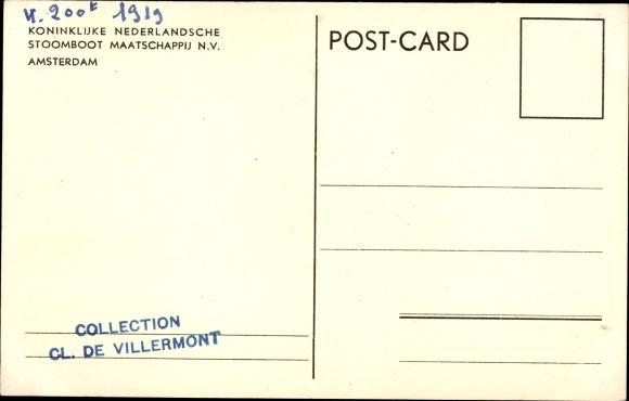 Postcard Dampfer Crijnssen, KPM Line | akpool co uk
