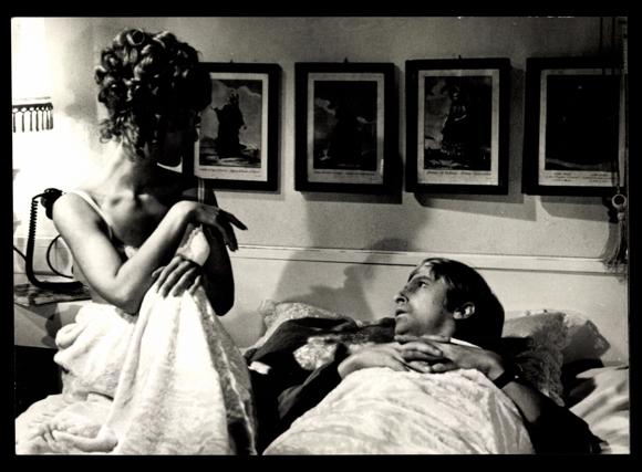 ansichtskarte postkarte filmszene mit mir nicht madam. Black Bedroom Furniture Sets. Home Design Ideas