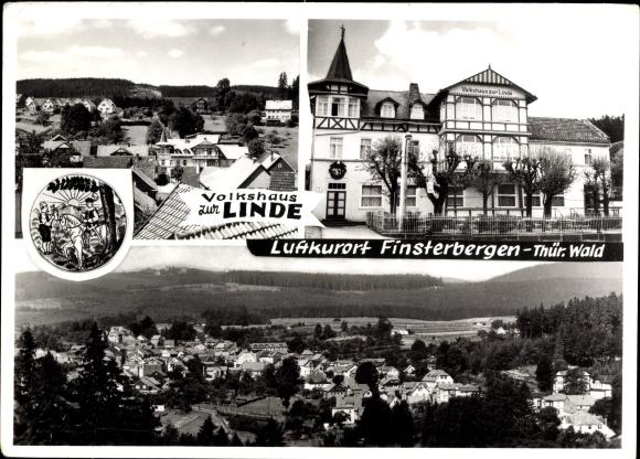 Finsterbergen Friedrichroda, Volkshaus Zur Linde